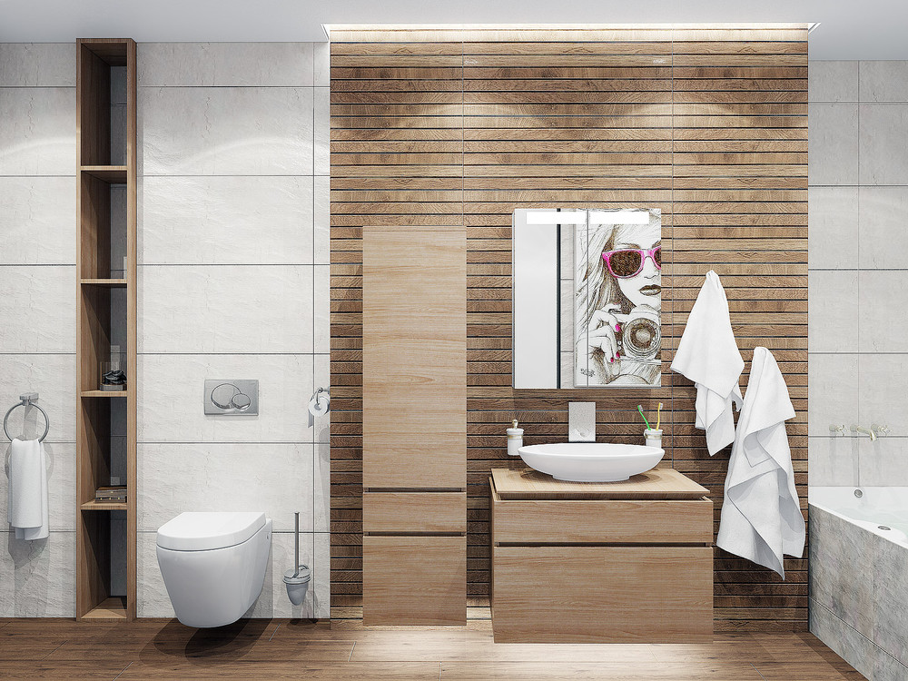 Modern bathroom interior design style
