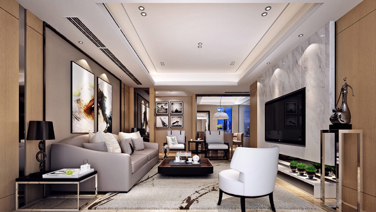 10 Modern Living Room Ideas With Artistic Chinese Influence - RooHome