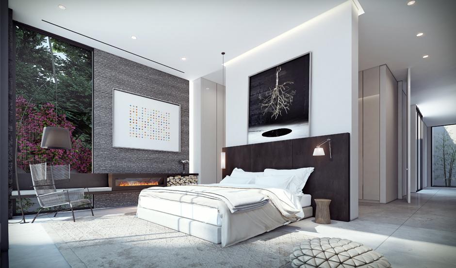 Elegant bedroom theme