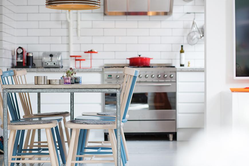 Scandinavian kitchen set