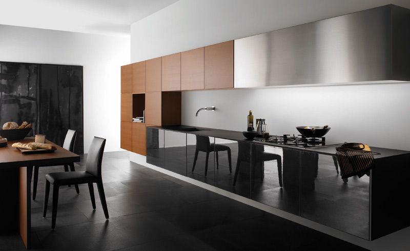 Modern and stylish kitchen design style