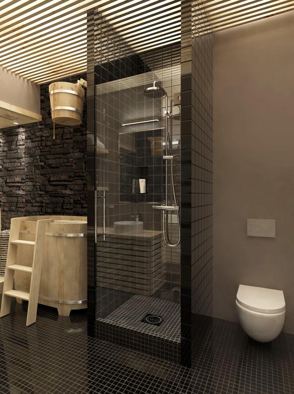 Creative shower design