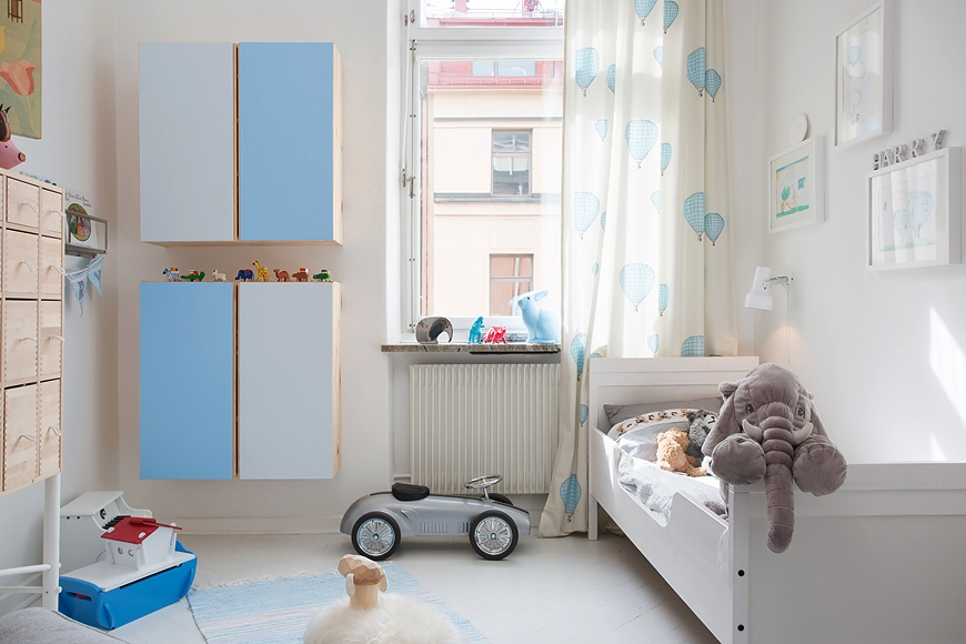 Scandinavian nursery rooms