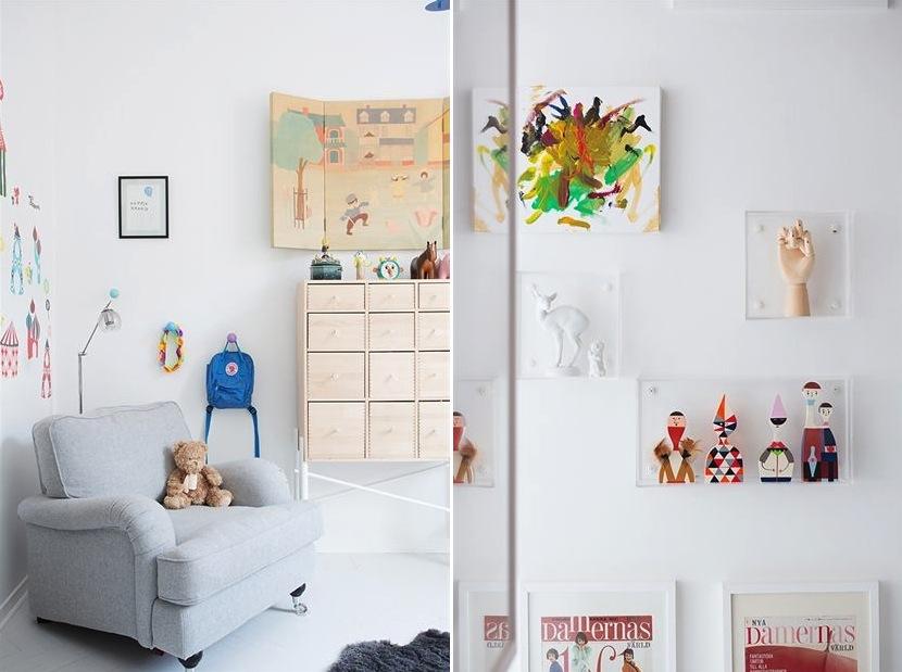 Modern nursery room design