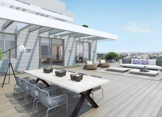 Luxurious penthouse design