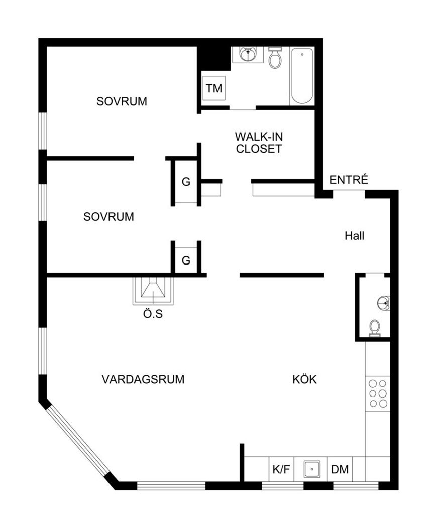 Swedish house plan design