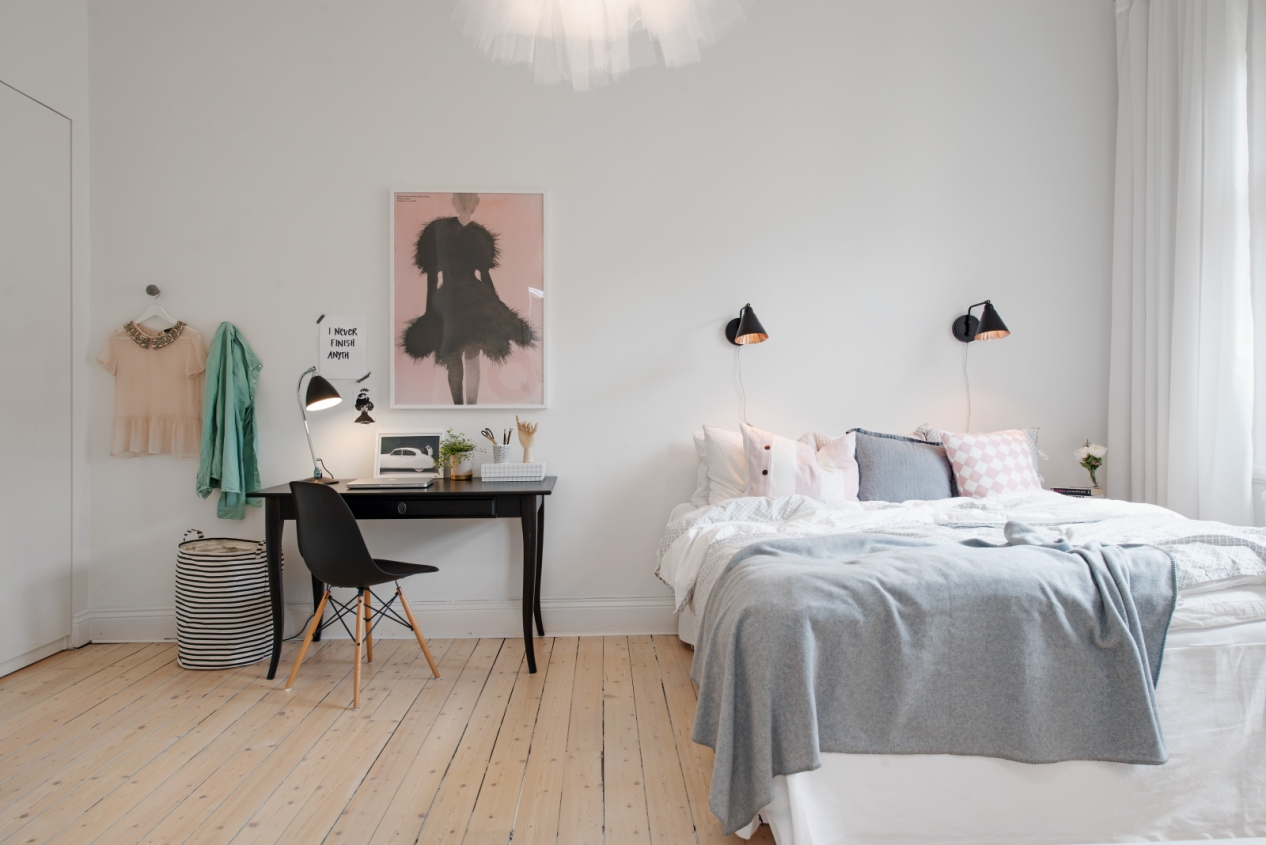 Beautiful girls room decor