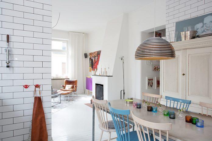 Swedish apartment design ideas