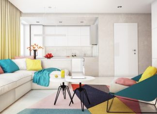 Colorful apartment decorating ideas