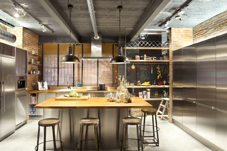 Industrial kitchen design