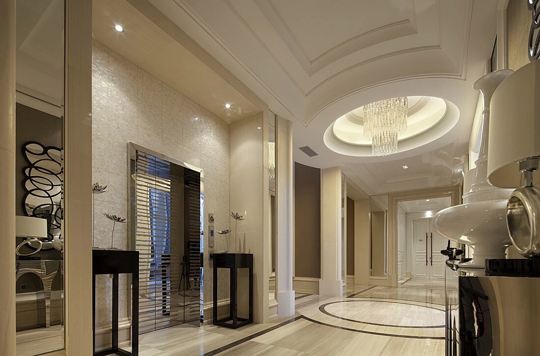 Beautiful hallway design