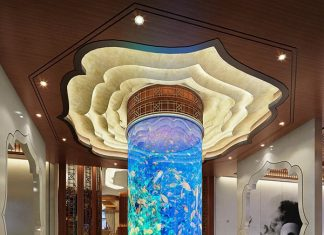 Beautiful aquarium design