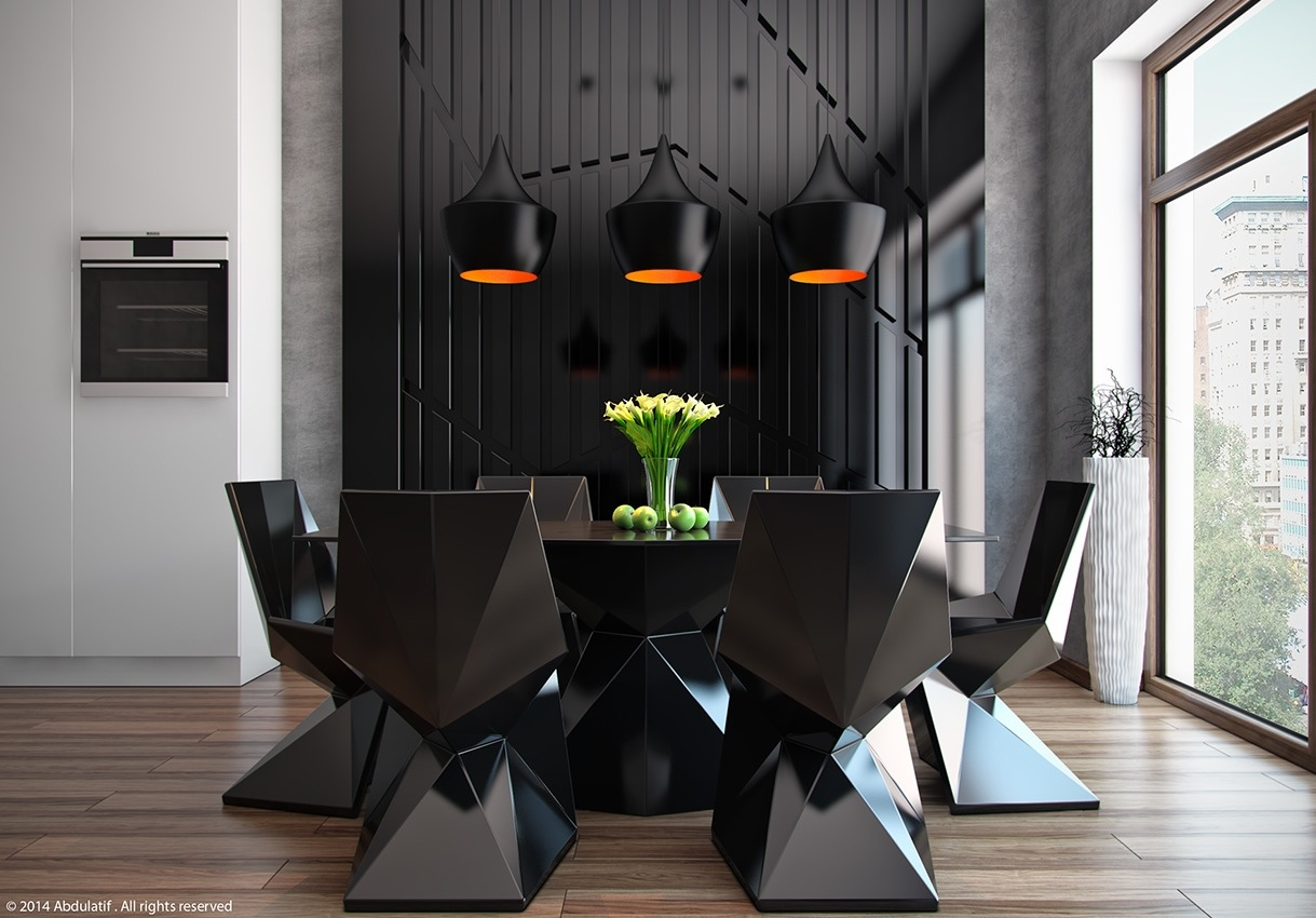 dark color for dining room