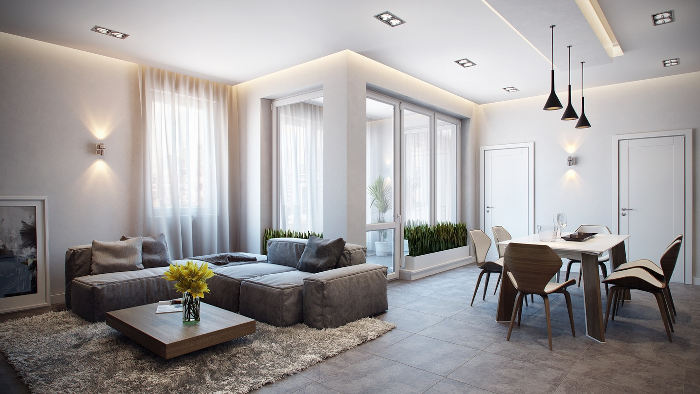 Alexander Zenzura Simple Apartment Interior Design