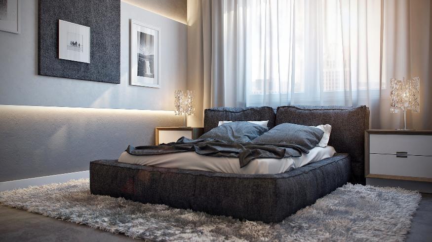 apartment interior bedroom design