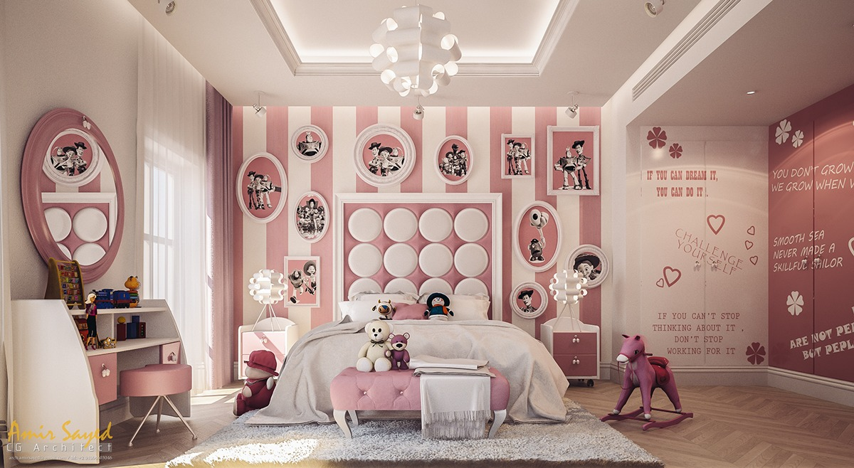 Girls bedroom designs 2016 -  Beautiful Bedroom Designs For Girls