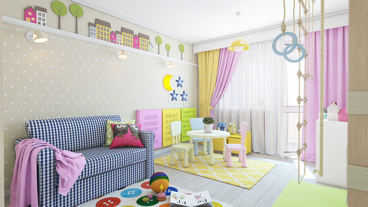 Types of kids room decorating ideas and inspiration for for Children s bathroom designs