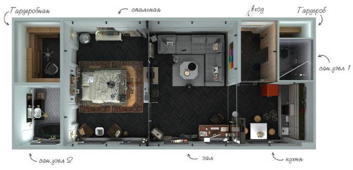 modern classic apartment design