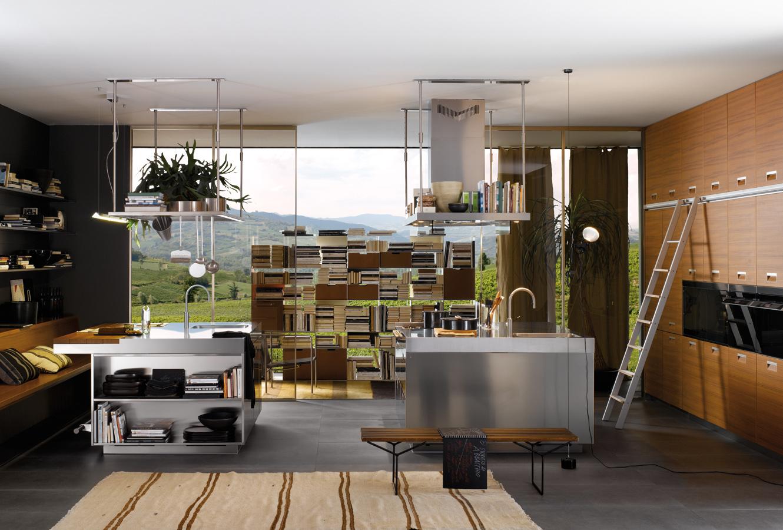 simple kitchen designs with aluminium furniture