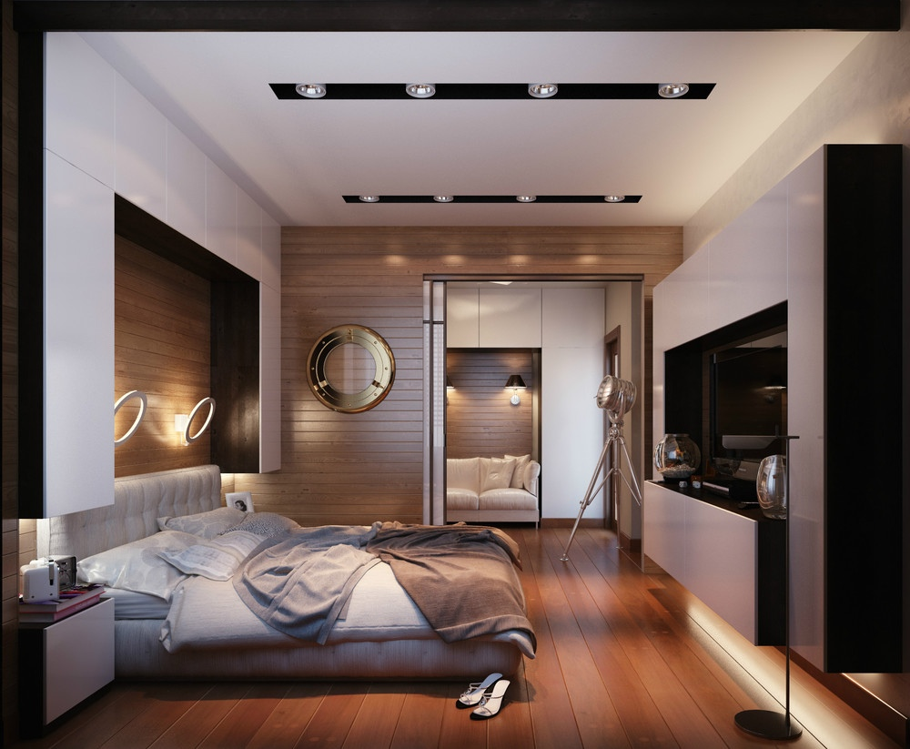 2 concepts of studio apartment decorating which makes for Apartment design concept