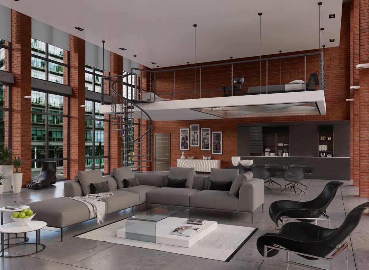 Industrial Living Room Design Luxurious Living Room Design With Modern Classic Interior