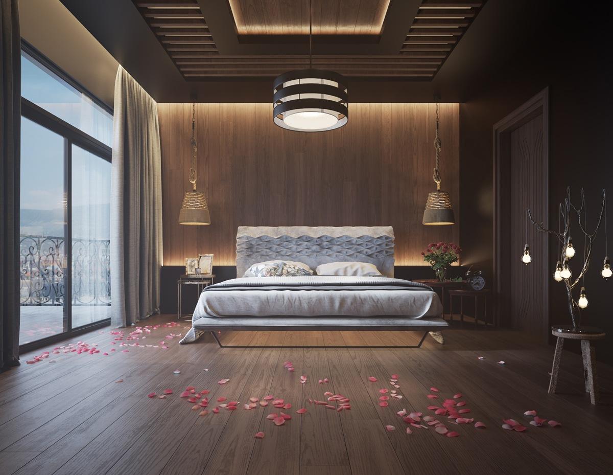 wooden style bedroom ideas