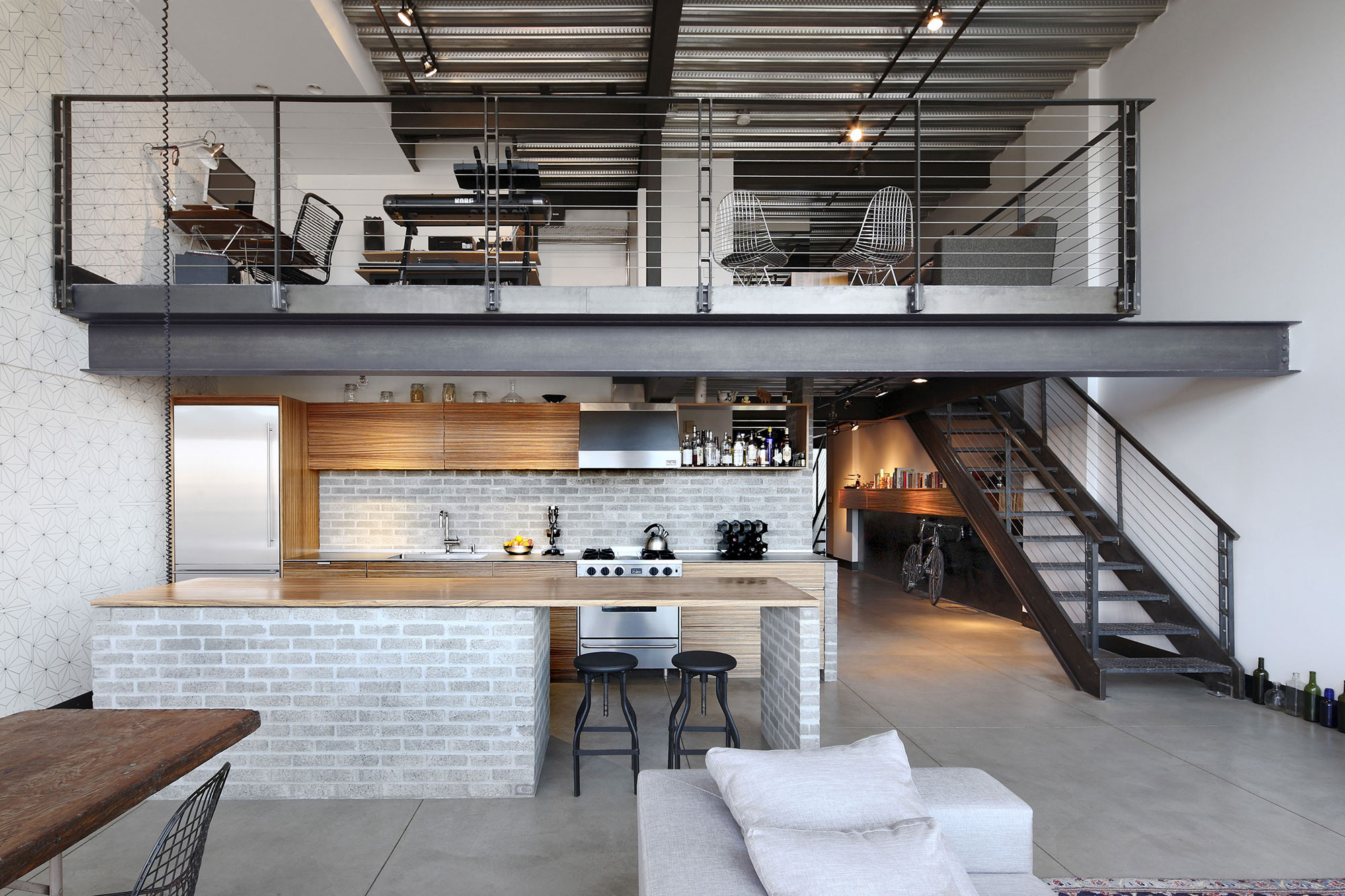 2 Awesome Loft Apartment Designs Ideas That Will Make You ...