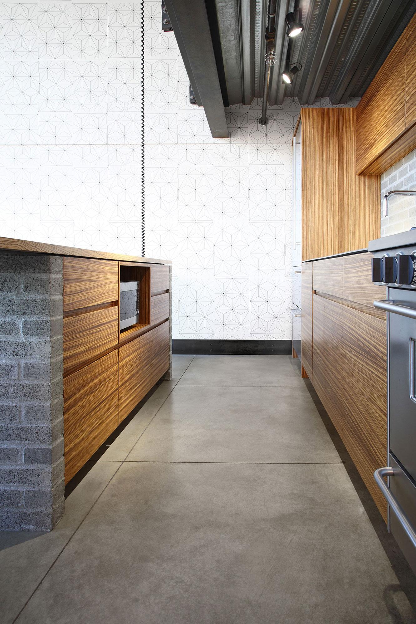 Wooden kitchen design