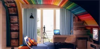 colorful theme for kids room