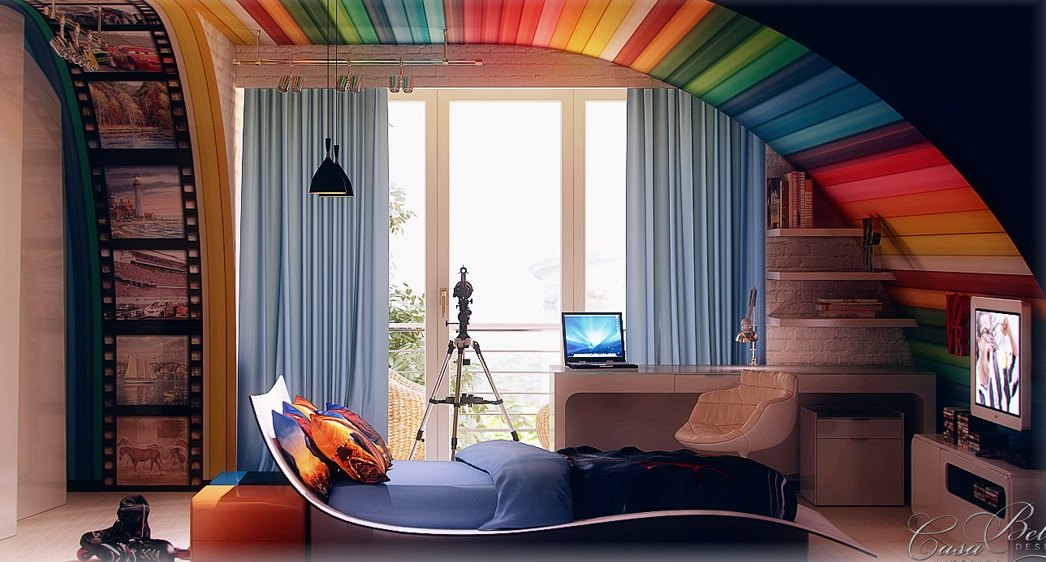 Kids Room Decorating Ideas With Colorful Theme Looks ... - photo#43