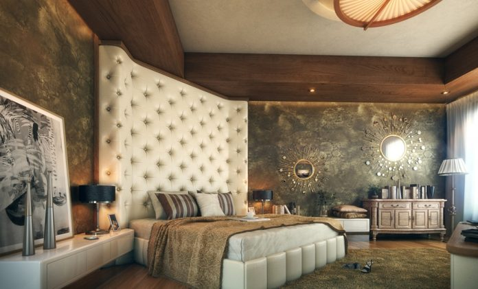 bedroom feature wall designs