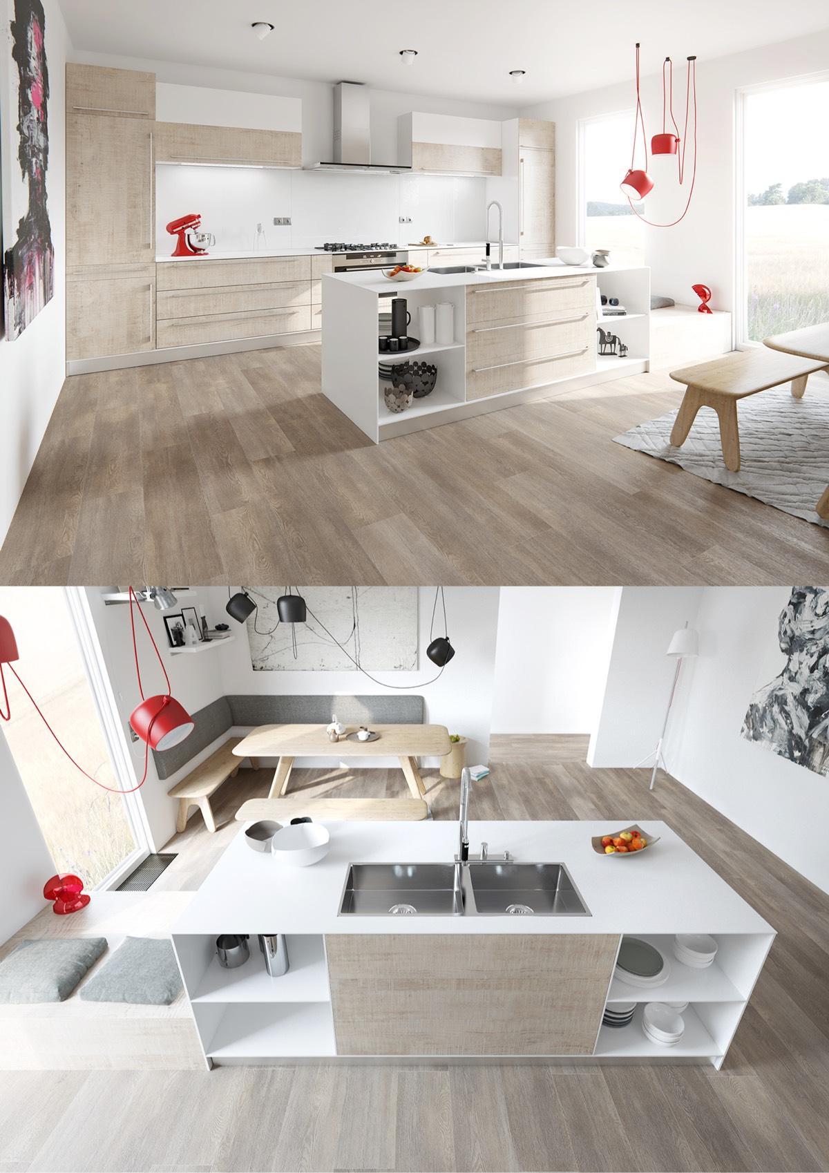 stunning white kitchen design