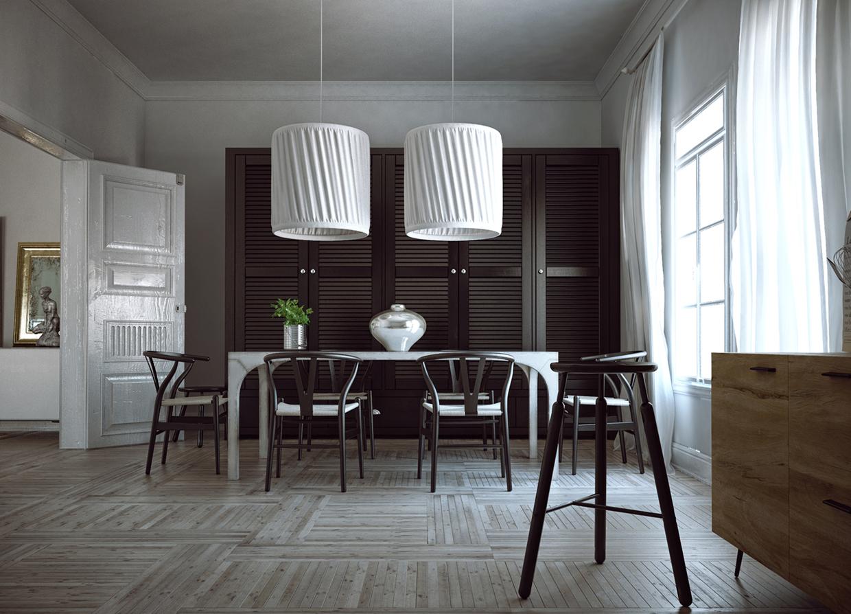 vintage dining room design
