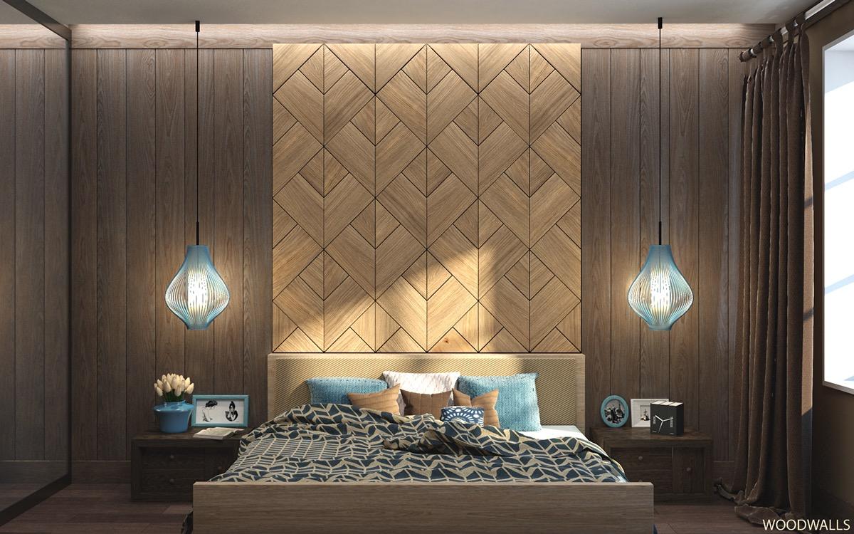Bedroom Wall Texture Designs Looks So Fancy - RooHome | Designs ...