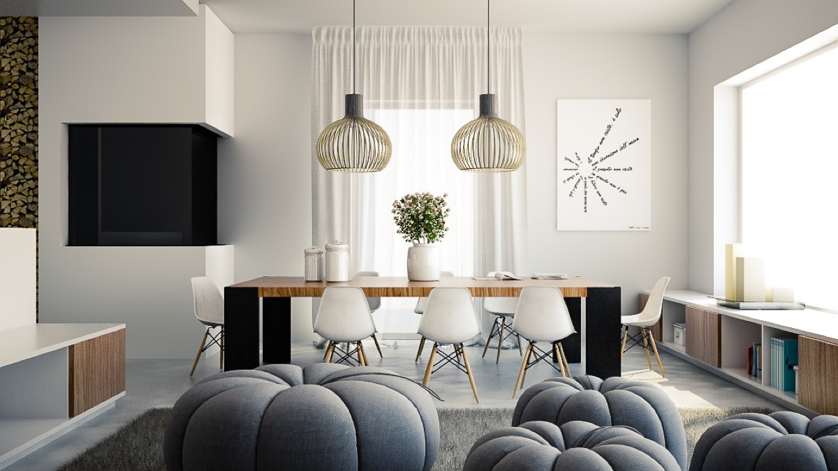 modern light for dining room