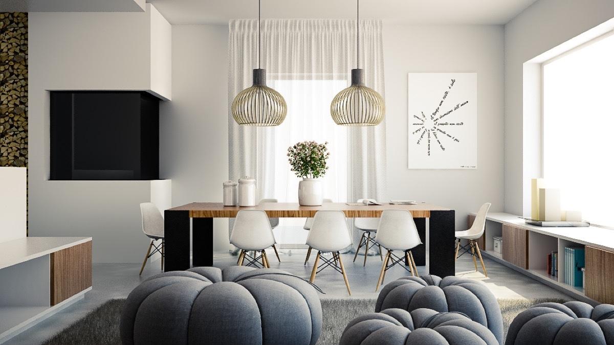 modern light for dining room