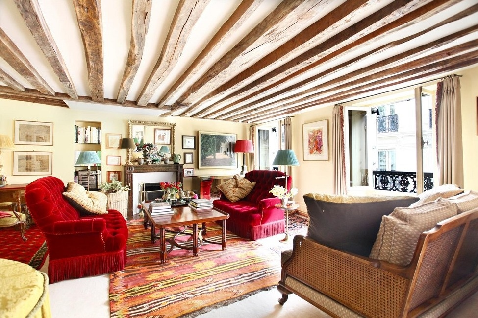 16 Stunning French Style Living Room Ideas: Beautiful French Living Room Style Design Ideas