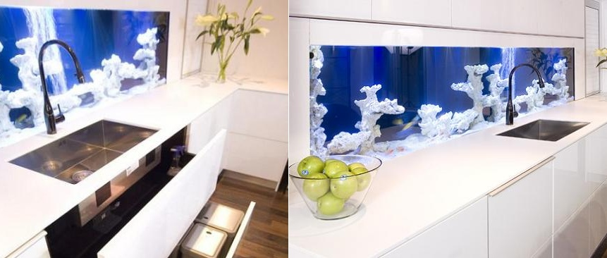 beauty kitchen backsplash