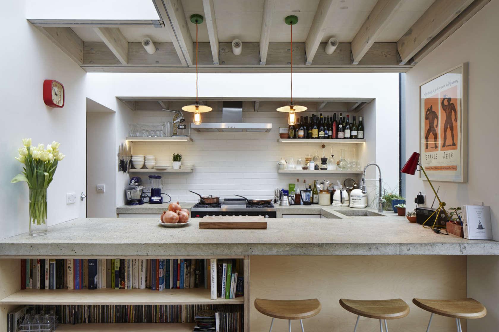 white stunning kitchen design