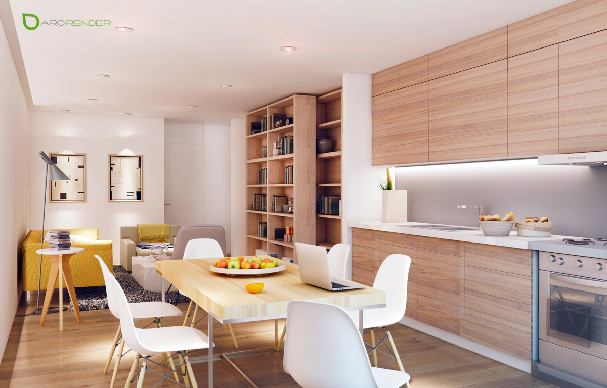 apartment interior dining room concepts