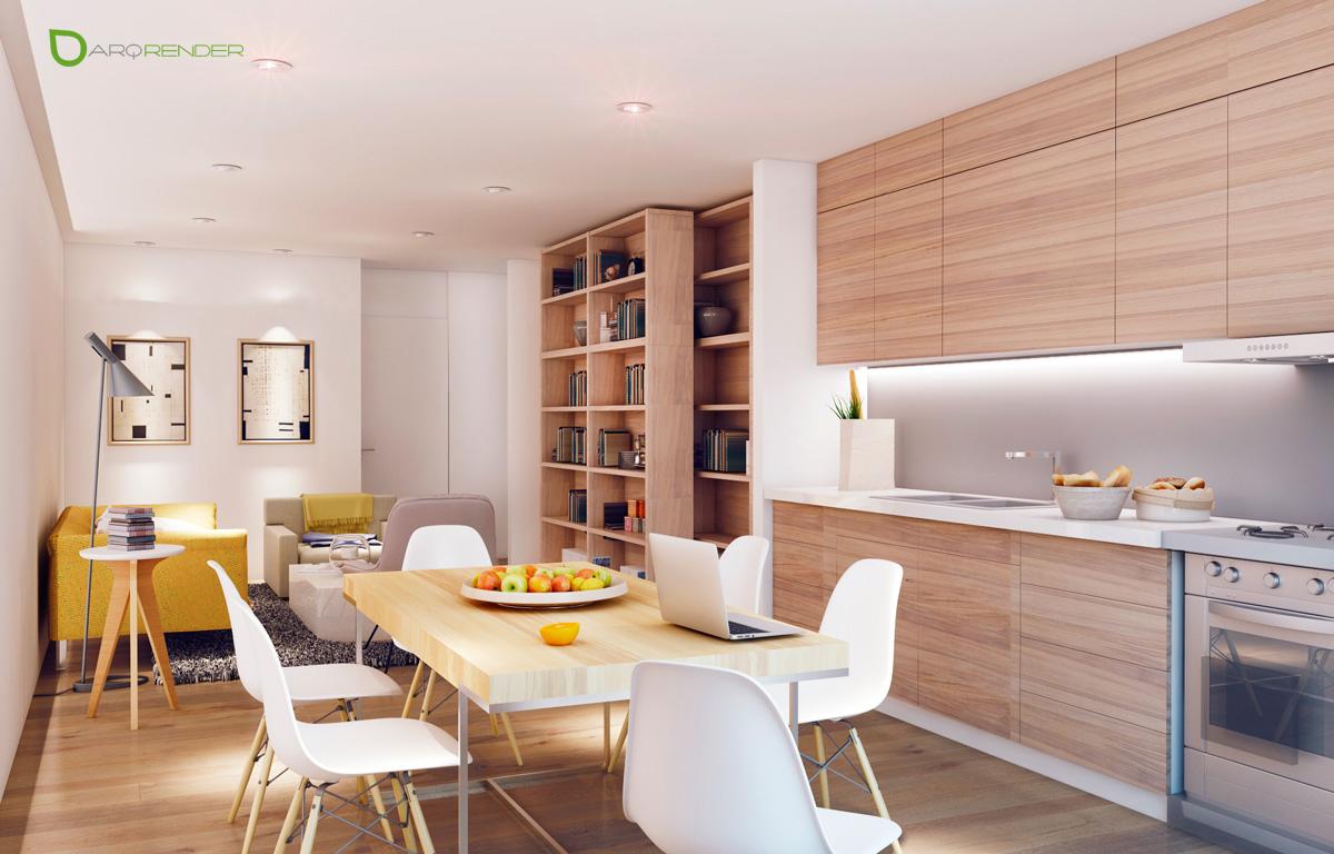 apartment interior dining room concepts