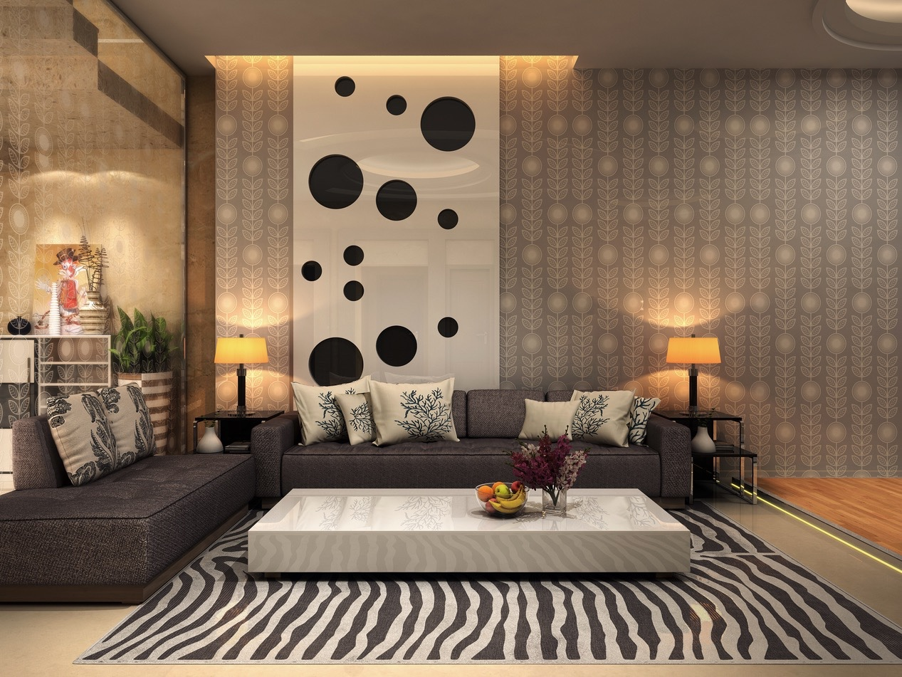 Design Living Room With Relaxing Modern And Gorgeous Shades - Designer pictures of living rooms