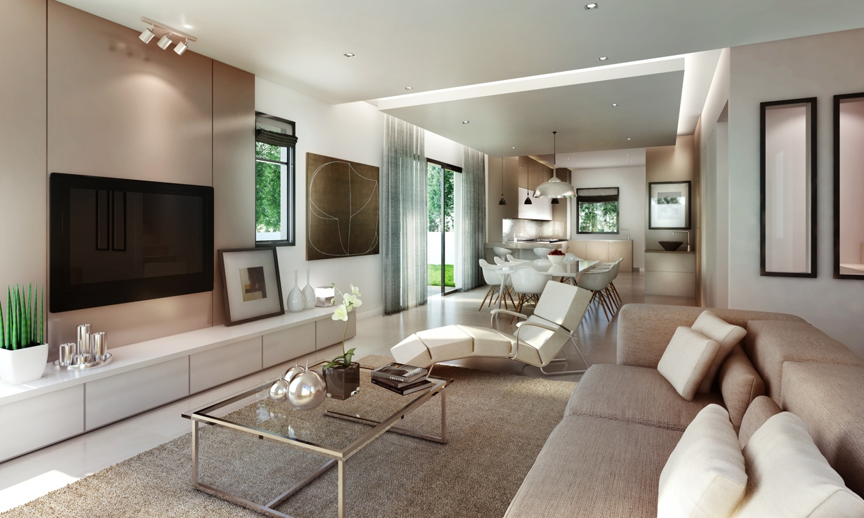 Luxurious Living Room Design Looks Chic and Awesome - RooHome