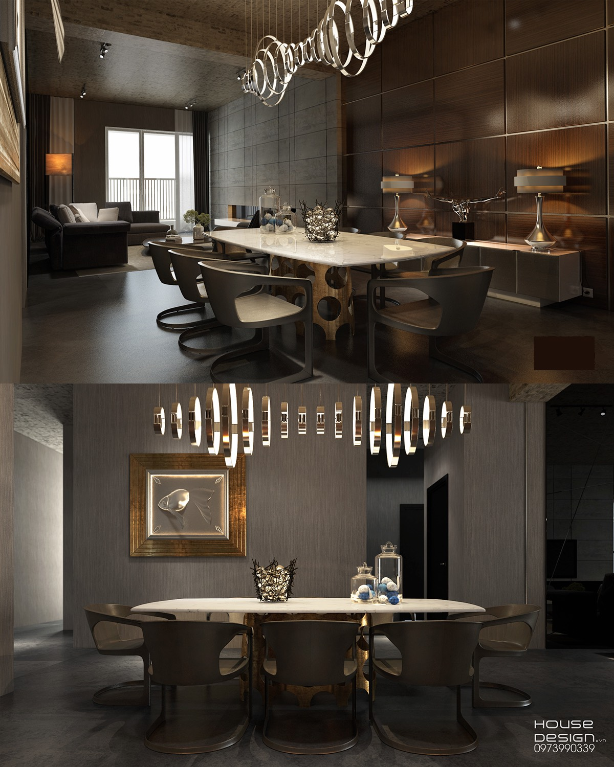 Dark Dining Room Ideas Part - 39: Whimsical Lights For Dining Room