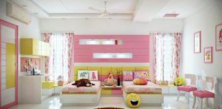 attractive bedroom design for girls
