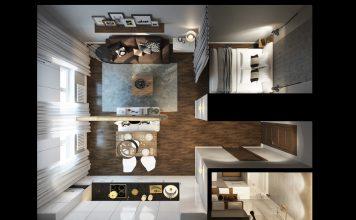 white apartment design