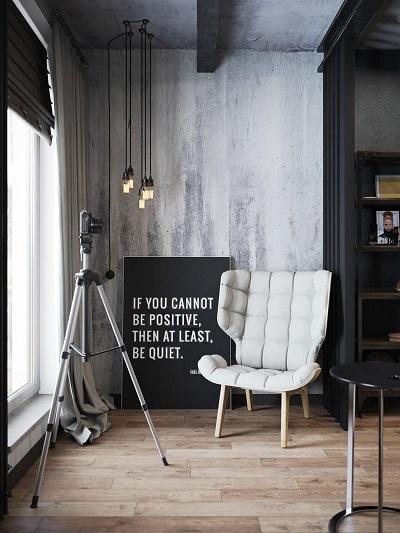 Interior design inspiration by using creative furniture