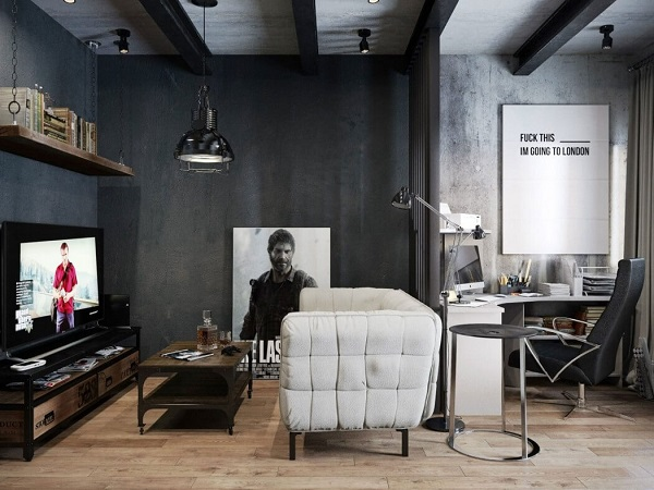 Interior design inspiration for a cozy workspace