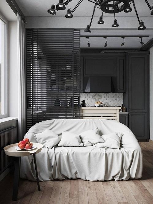 Interior design inspiration for a modest apartment