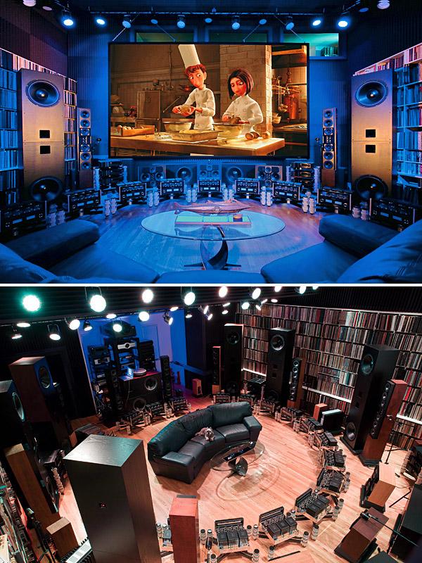 home theatre living room designs